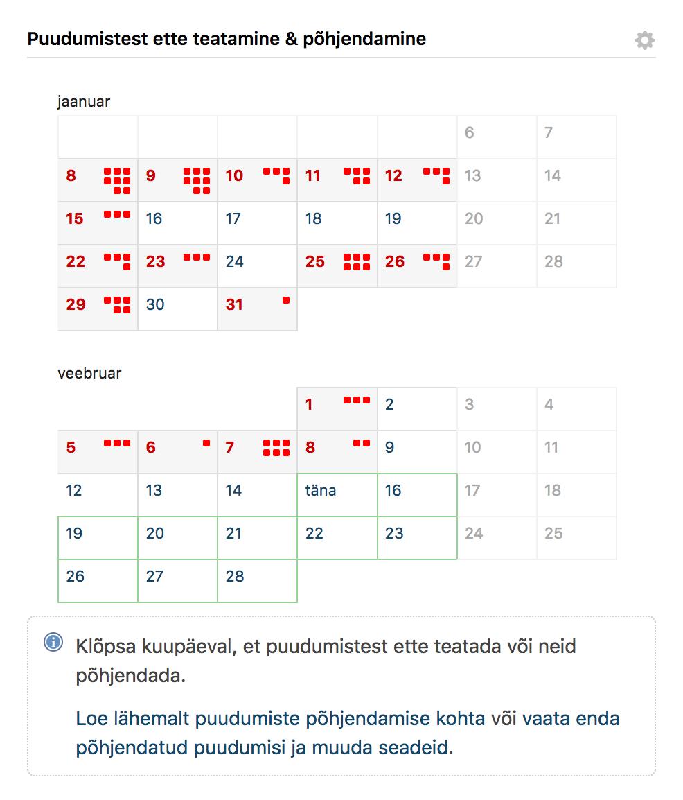 Lapsevanema kalender